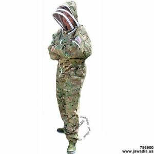 Adult Large Camo Bee Suit Bee Keeper Suit Bee Protection Bee Suit Full Bee Suit