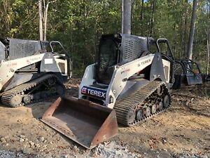 Only 22k 2009 Cat 247b Skidsteer Package Bucket New Bushhog New Grapple