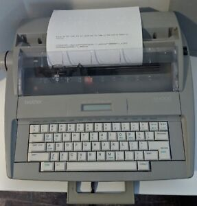 Refurbished Brother Sx 4000 Electronic Typewriter Extremely Clean Works Great