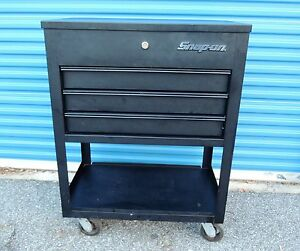 Snap On Flat Black Tool Cart Tool Box