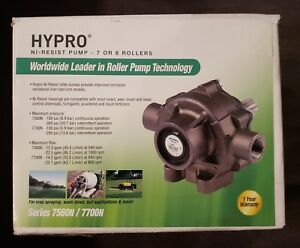 New Hypro 7 Or 8 Roller Ni resist Sprayer Pump 7560n Improved Corrosion Resist
