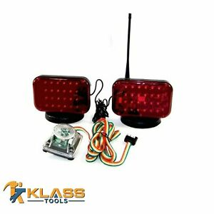 Wireless Tow Lights With 48 Powerful Led Lights