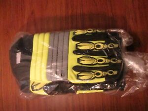 3pr Wells Lamont 9904xl lea Oily Uncoated Cut Resistant Gloves Xl New