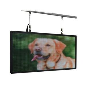 27 x 14 Full Color Programmable Indoor Led Sign Display Images Animations Text
