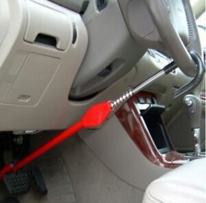 Steering Wheel Lock Club To Pedal Car Anti Theft Truck Auto Van Universal Safety