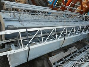 Used Glen Martin Engineering Staging Steel Uprights And Al Cross Sections