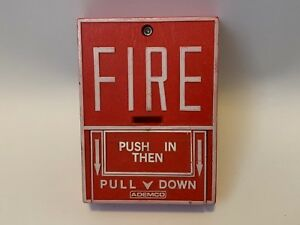 Ademco 532 Fire Alarm Pull Station Notifier Fire lite Bg 10