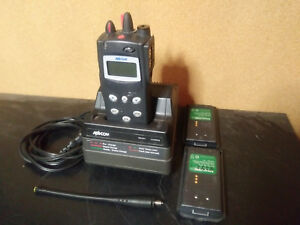 Macom P7100ip 800mhz Edacs Radio W Charger 2 Spare Batteries Ht7150881e