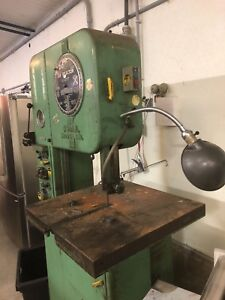 Doall Bandsaw Model Ml Comes With Bdw 1 Blade Welder