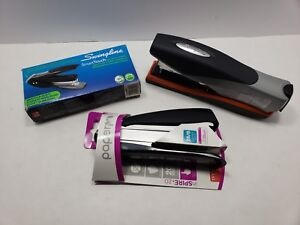 Stapler Lot Of 3 Swingline Optima 40 Smarttouch And Paperpro Inspire 20