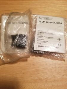 Baumer Fedm 12p5101 s35a Receiver And Fsdm 12d9601 s35a Combo