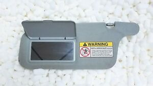 96 97 98 99 00 Honda Civic Oem Grey Driver Left Side Sun Visor Coupe Sedan Hatch