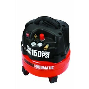 6 Gallon 1 5 Hp 150 Psi Professional Air Compressor Portable Free Fedex From Usa