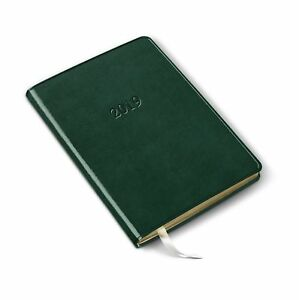 2019 Gallery Leather Desk Weekly Planner Acadia Green 8 x5 5