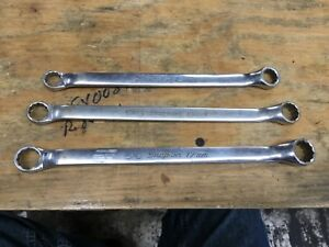 Snap On Tools Sae metric Combination Box End Wrenches S1213 S9515a S5817 13mm