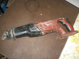 Hilti Wsr 18 a Reciprocating Saw Tool Only