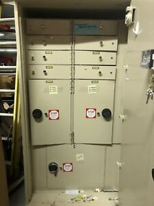 Safe Deposit porta Vault Safe 2 Move Time Locks Tl 15