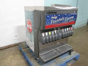 cornelius Ifac3030s Hp Hd Commercial Lighted 10 Flavors Soda W ice Dispenser