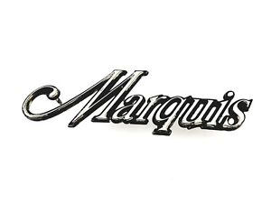 1973 1978 Mercury Marquis Side Fender Emblem Badge Symbol Logo Sign Oem 1974