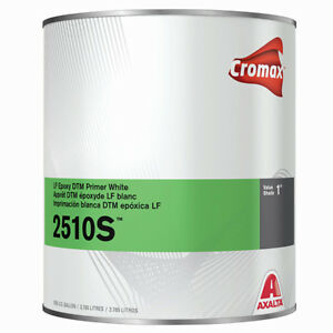 Cromax 2510s Lf Epoxy Dtm Primer With Activator 3 Gal Bundle For 2 1 Mix Ratio