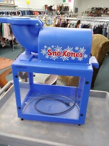 Gold Medal Sno king Sno Cone Machine Shave Ice Snow