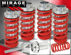 93 97 Toyota Corolla Scale 1 3 Height Adjustable Lowering Coilover Spring Red