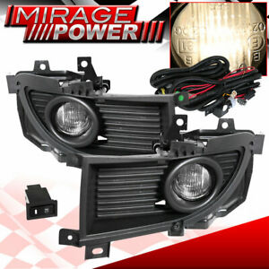 2004 2006 Mitsubishi Lancer Driving Clear Bumper Fog Lights Replacement Jdm