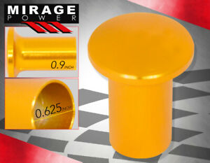 Universal Spin Turn Drifter Sport Button Knob Lever E Brake Handle By Pass Gold