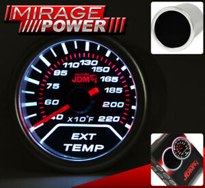 Universal 2 52mm Egt Exhaust Temperature Gauge Indicator Dial Monitor Display