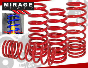 2008 2011 Honda Accord Lx Ex Acura Tsx Cu2 Race Lowering Suspension Spring Red