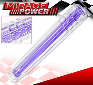 For Chevy 300mm Clear 3d Style Long Extended Dildo Shift Knob Road Race Purple