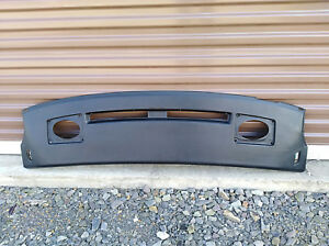 1982 1993 Pontiac Firebird Trans Am Upper Dash Pad Dashpad Cover Black Oem