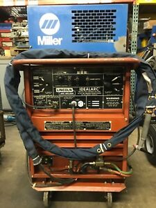 Lincoln Tig 250 250 Welding Power Source water Cooled will Ship