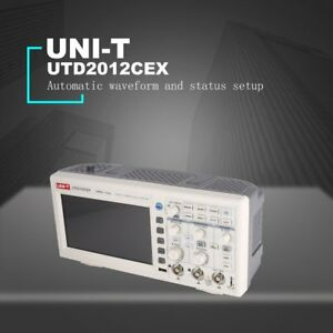 Uni t Utd2012cex Digital Storage Oscilloscope 100mhz 2 Channel Logic Analyzer Z3