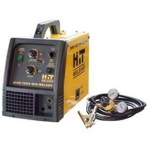 140 Amp 120 volt Mig Welder Advanced Thermal Overload Protection Hit Welding