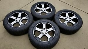 20 Jeep Grand Cherokee Trailhawk Wheels Rims Tires Factory Oem Set 2017 2018