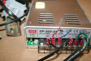 Mean Well Mw Sp 300 24 24vdc Power Supply 12 5amp