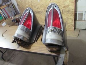 1955 56 Packard Clipper Tail Light Housing Fender Cut Outs