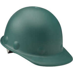 Fibre metal Roughneck P2 Cap Style Hard Hat With Swing Strap Green