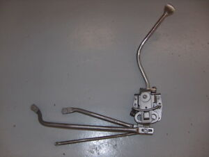 1968 Ford Galaxie Xl Gt Cobra jet Oem 4 Speed Transmission Shifter W handle rod