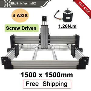 Workbee Cnc Router Mechanical Kit Size 1500 1500mm Cnc Wood Engraving Machine