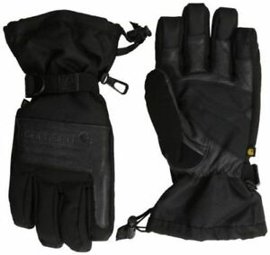 Carhartt Men s Cold Snap Insulated Winter Work Gloves Sz Med Black Free Ship