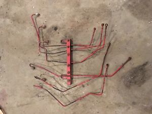 International Farmall Tractor Diesel Injector Lines 361 407 Engines 806 1206 856