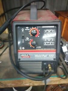 Lincoln Electric Weld Pak 100 Portable Mig Welder