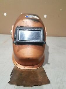 Vintage Anchor Welder Helmet Mask Free Shipping Made In The Usa