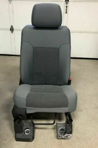 11 16 Ford F 250 f 350 Super Duty Gray Cloth 40 20 40 Passenger Bucket Seat Only