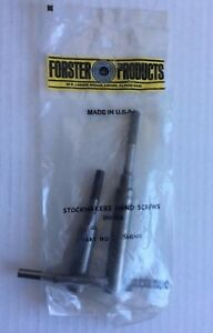 Forster Products Stockmakers Hand Screws for Enfield #SMENFI