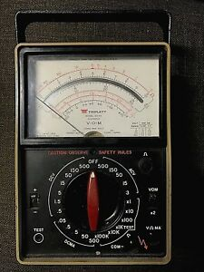 Triplett Model 60 na Suspension Volt Ohm Milliammeter In Working Condition