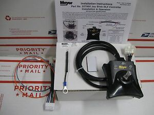 Meyer Joystick Snow Plow Controller 22790x With Adapter For E58
