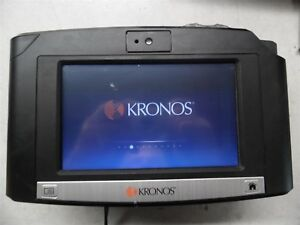 Kronos Intouch 9000 Time Clock With Mag W Bio 8609000 002